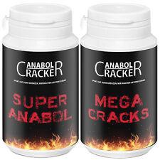 SUPER ANABOL - Testosteron Pre Workout Booster + Mega Cracks - Trainingsbooster