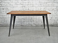 1.4m Industrial Chic Dining Kitchen Table Retro Vintage Furniture Office Desk