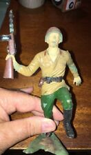 Louis Marx Soldier Toy Plastic Army Man