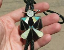 Vintage Native American Turquoise Bolo Neck Tie