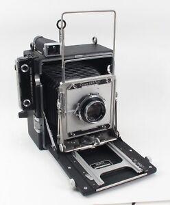 NICE Graflex 4x5 Crown Graphic Press/Field Camera w/Schneider 135mm 4.7 Xenar