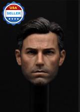 1/6 Ben Affleck Batman Bruce Wayne Head sculpt 2.0 for 12'' MUSCULAR figure