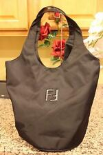 Fendi NYLON LARGE HOBO SLING BAG PURSE  (PU220