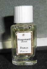 Fragonard Grasse Dahlia Parfum Miniature 2ml True Perfume Fragrance Vanity Rare