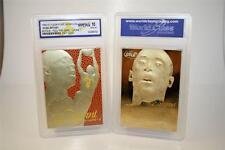 KOBE BRYANT 1996-97 Fleer Flair FEEL GAME 23KT Gold Card YELLOW Home GEM MINT 10