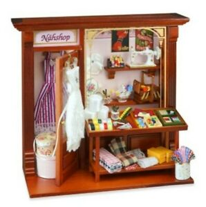1/12th Scale Dolls House Sewing Shop Room Display, by Reutter Porzellan.