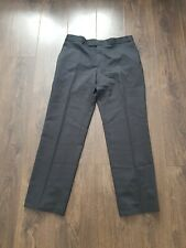 """BALMAIN Grey 100 % wool trousers pockets W36 L32 Made in Italy 36x32"""" mens male"""