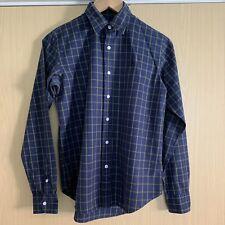Ralph Lauren Sport Ladies Blue/Green Long Sleeved Check Tartan Cotton Shirt 8