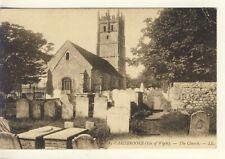 Y 188 ISLE OF WIGHT - LL POSTCARD OF CARISBROOKE CHURCH,LL13