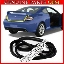 NEW OEM Rubber Trunk Weather Strip 1 PCS For 2003-2008 Hyundai Tiburon Coupe