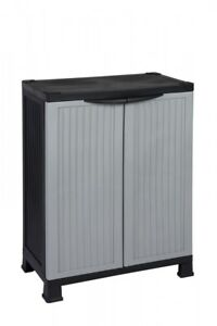 Kunststoffschrank Balkonschrank Haushaltsschrank Campingschrank Schrank 1 Boden