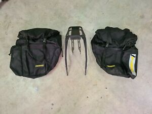 Tioga Bike Pannier Bags and frame Side Mounted Saddle Bags W Waterproof Covers