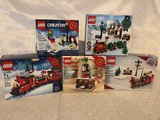 LEGO NIB Christmas Winter 11 Sets 3300014 40138 40223 40125 40124 40092 40107