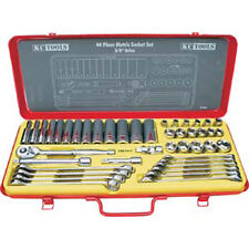 "KC TOOLS 44 PIECE 3/8"" DR SOCKET & SPANNER SET - A13265"