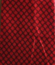 VTG 1940's Wise Smith & Co Red Basket Weave Trojan Hand Made Men's Necktie Tie