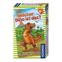 KOSMOS Welcher Dino ist das? Memo-Spiel Memo Spiel Dinosaurier ab 4 J. 711313
