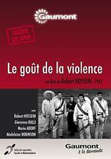 """DVD """"LE GOUT DE LA VIOLENCE""""Robert HOSSEIN,Madeleine ROBINSON neuf sous blister"""