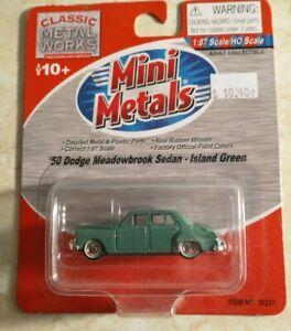 CLASSIC MINI METALS CMW HO 50 DODGE MEADOWBROOK Island Green MIC