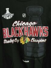 CHICAGO BLACKHAWKS NHL Med Shirt Reebok Stanley Cup '13 Champs Team Roster Toews