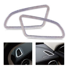 Dashboard Air Condition Vent Outlet Cover Trim Frame Fit Benz C Class W205 2014