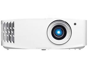Optoma UHD30, 3400 lúmenes, 4K UHD 3840x21601, 15000h, HDMI, HDR10, Blanco