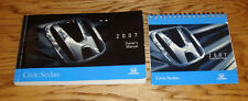 Original 2007 Honda Civic Sedan Owners Operators Manual + Quick Start Guide Set