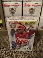 NEW! 2021 TOPPS Baseball Series 1 MLB BLASTER BOX! Factory Sealed! SHIPS FAST!🔥