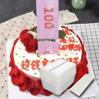 Funny Toys Box Cake Money Props Making-Surprise For Birthday -Cake Party Ba D4M3
