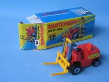 Lesney Matchbox 15 Fork Lift Truck Lansing Bagnall Boxed Toy Model Superfast