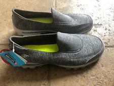 Skechers GoWalk 2 #13598 Women's Grey Gray Size 10 Slip on Walking - New w/o box