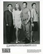 GATES MCFADDEN RICHARD GRIECO KEONE YOUNG MARKER ORIGINAL 1994 UPN TV PHOTO