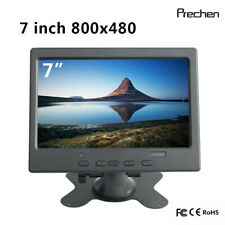 7 inch CCTV Monitor Computer Screen HDMI VGA AV for Raspberry Pi Home Security