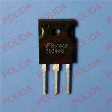 10PCS MOSFET FAIRCHILD/INTERSIL/HARRIS TO-247 HUF75344G3 HUF75344G 75344G