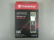 Transcend MTE850 M.2 128GB SSD 2280 PCIe Gen3 x4 NVMe 1.2 Solid State Hard Drive