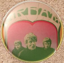 Cream Eric Clapton Ginger Baker Jack Bruce Drum head
