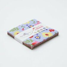 """Meadow Sweets 5"""" Squares Charm Pack by Jill Finley for Penny Rose Fabrics, 21 pc"""