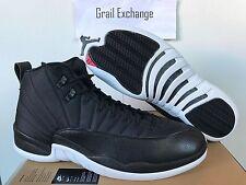 NEW Air Jordan 12 Retro 130690-004 Nylon XII Black White Taxi RARE Nike Size 15