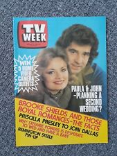 TV Week 1983 Aug 6~Cop Shop,Prisoner,Heather Locklear,Skyways,Paula Duncan,NM