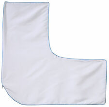 L-Shaped Pillow Cover, White