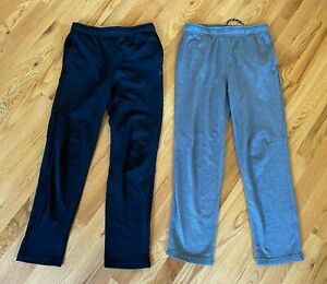 Lot of 2 Boys OLD NAVY ACTIVE Go-Dry Pants Size XL Gray Black