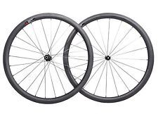 DT Swiss 350 Carbon Wheelset 38mm Road Bike Clincher Tubeless 700C UD Matt Rim