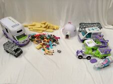 Joblot Collection Of Animal Hospital RSPCA Playset With Cars And Mini Figures
