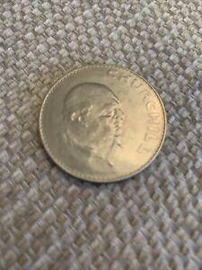 Churchil Commemorative £5 Coin 1965
