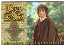 Lord Of The Rings FotR Update Costume Card Frodos Travel Cloak