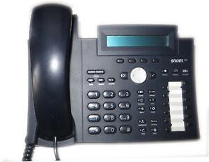 Snom 320 Voip System Phone Telephone New #60