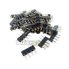 Para Barra / S 5x RGB Tira LED SMD PCB Conector Del Cable Adaptador