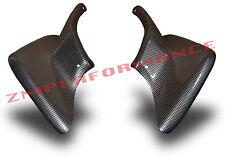 NEW HONDA TRX 450R 450ER 04 - 14 PLASTIC BLACK CARBON FIBER RACE FRONT FENDERS