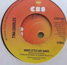 "Tina Charles - Dance Little Lady Dance (CBS - S CBS 4480)7"", Single1976"