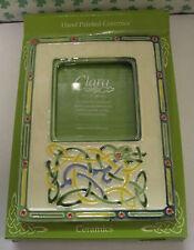 "L'Irlanda dipinti a mano ceramica Clara libro di Kells icona cornice foto 3.5""x 3.5"""