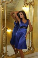 New Ladies Satin Cocktail Bridesmaid Party Evening Formal Prom Dress UK  8 - 18